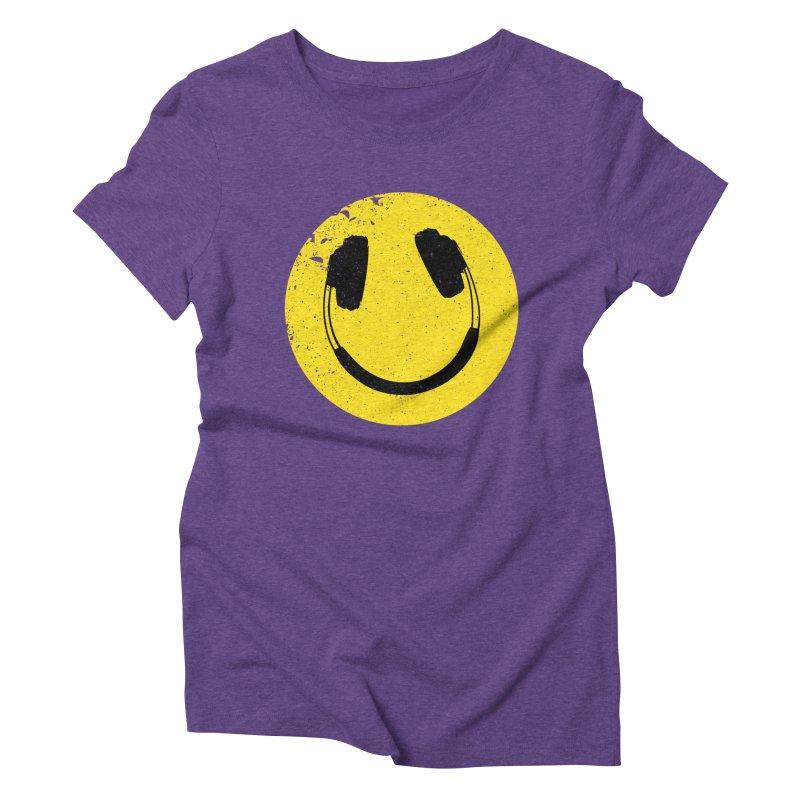 Music makes me feel good! Women's Triblend T-shirt by Llorch's Shop