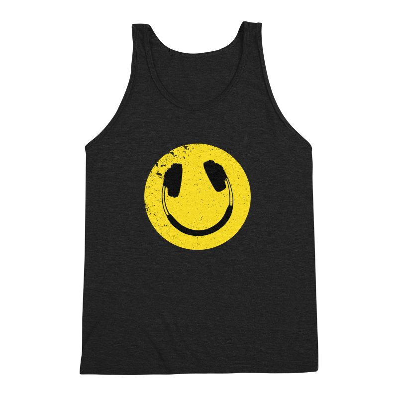 Music makes me feel good! Men's Triblend Tank by Llorch's Shop