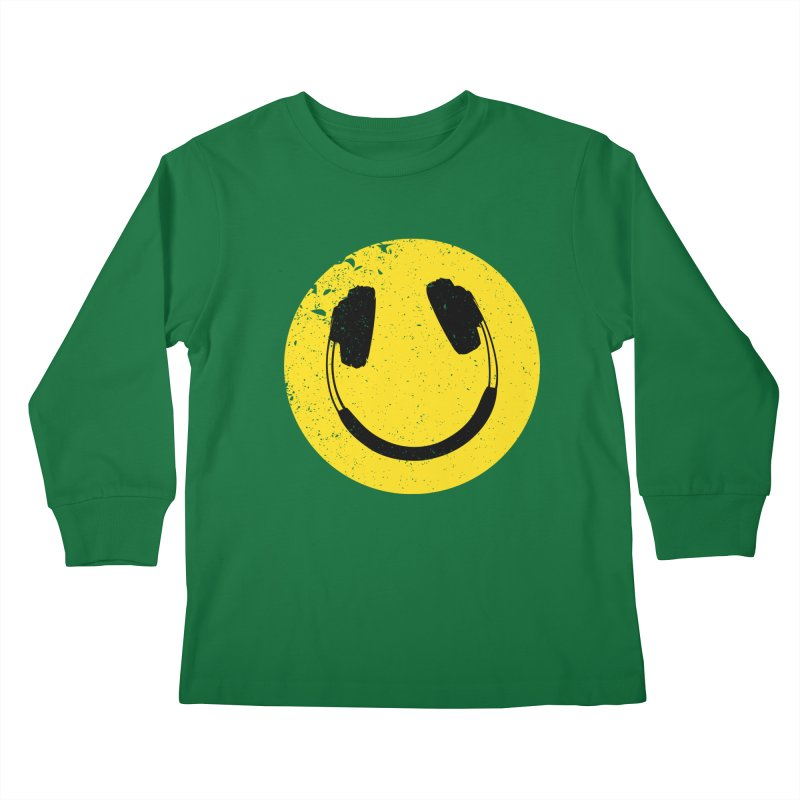 Music makes me feel good! Kids Longsleeve T-Shirt by Llorch's Shop