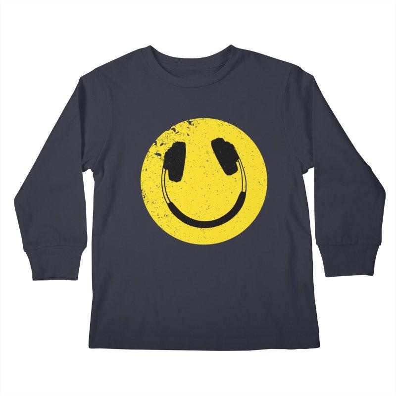Music makes me feel good! Kids Longsleeve T-Shirt by Llorch's Shop