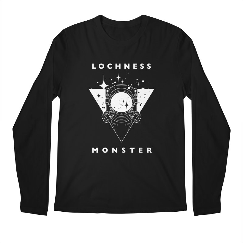 Astronaut Men's Longsleeve T-Shirt by LochnessMonster's Artist Shop