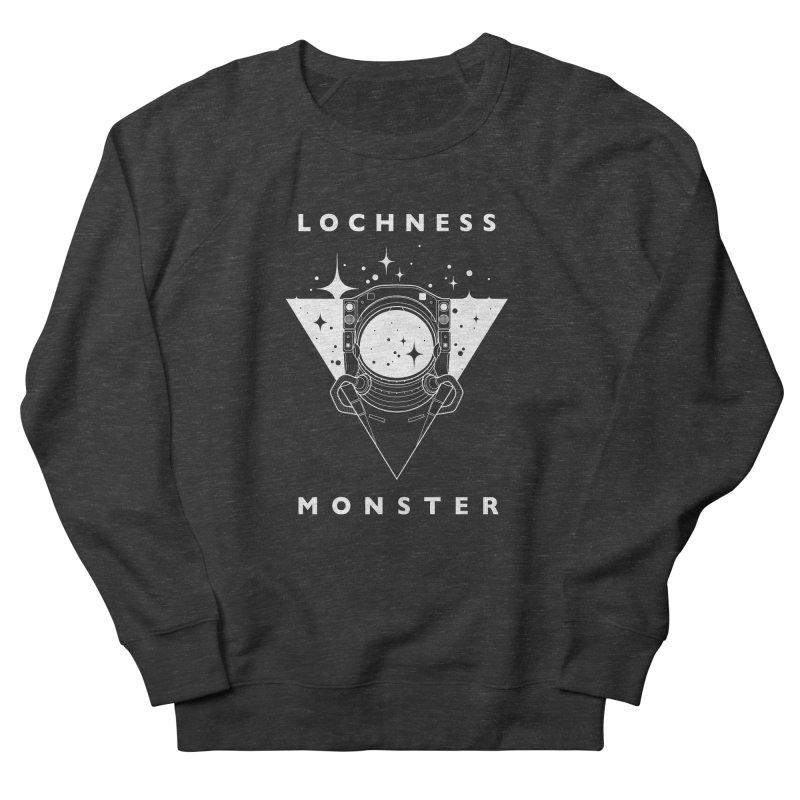 Astronaut Men's Sweatshirt by LochnessMonster's Artist Shop