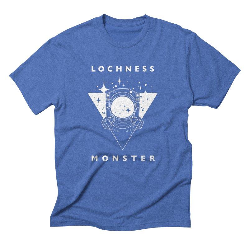Astronaut Men's Triblend T-Shirt by LochnessMonster's Artist Shop