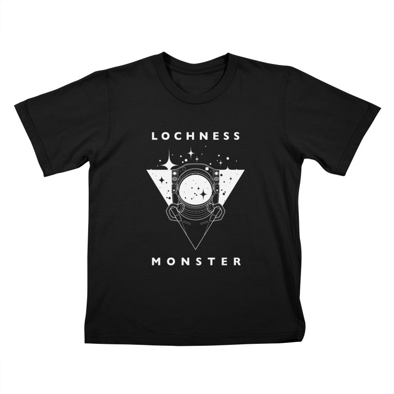 Astronaut Kids T-Shirt by LochnessMonster's Artist Shop