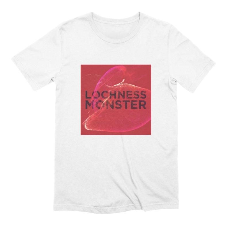 Lochness Monster Red Square Men's Extra Soft T-Shirt by LochnessMonster's Artist Shop