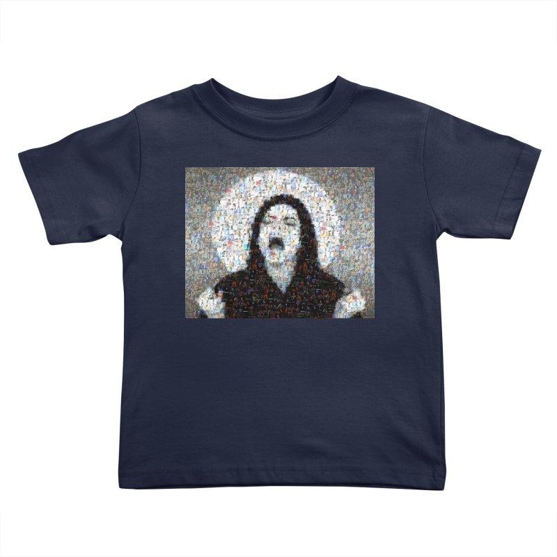 Michael Jackson Scream Mosaic Kids Toddler T-Shirt by Loganferret's Artist Shop