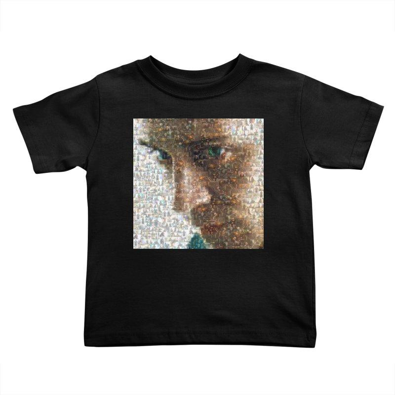 Loki God of Mischief Mosaic Kids Toddler T-Shirt by Loganferret's Artist Shop