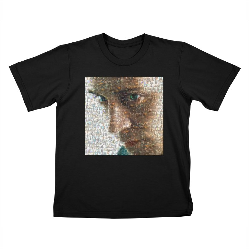 Loki God of Mischief Mosaic Kids T-shirt by Loganferret's Artist Shop