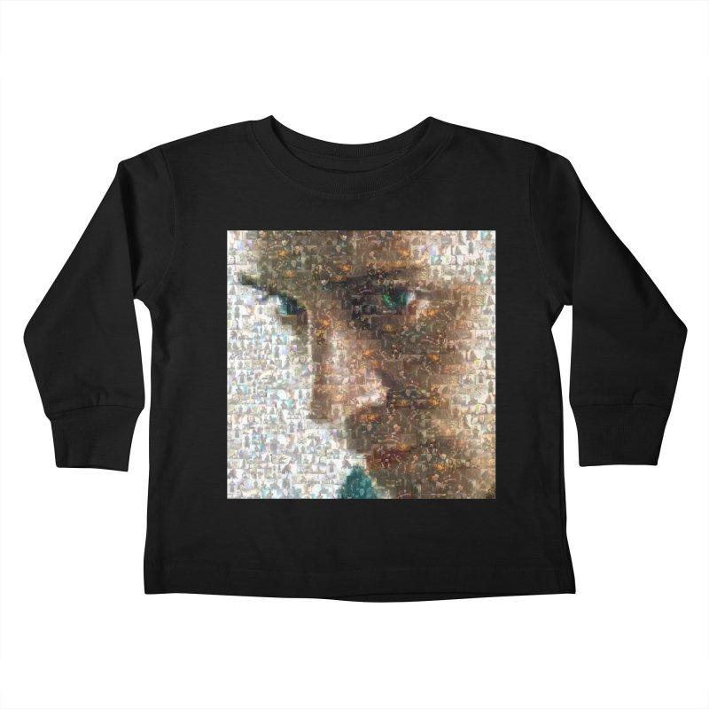 Loki God of Mischief Mosaic Kids Toddler Longsleeve T-Shirt by Loganferret's Artist Shop