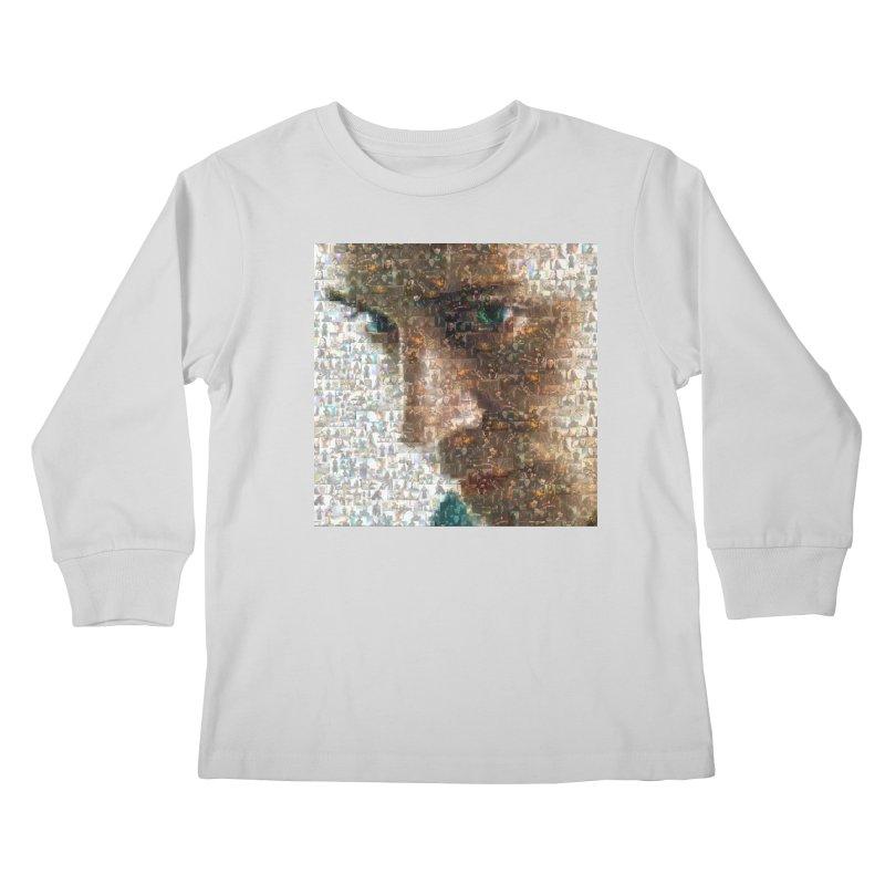 Loki God of Mischief Mosaic Kids Longsleeve T-Shirt by Loganferret's Artist Shop