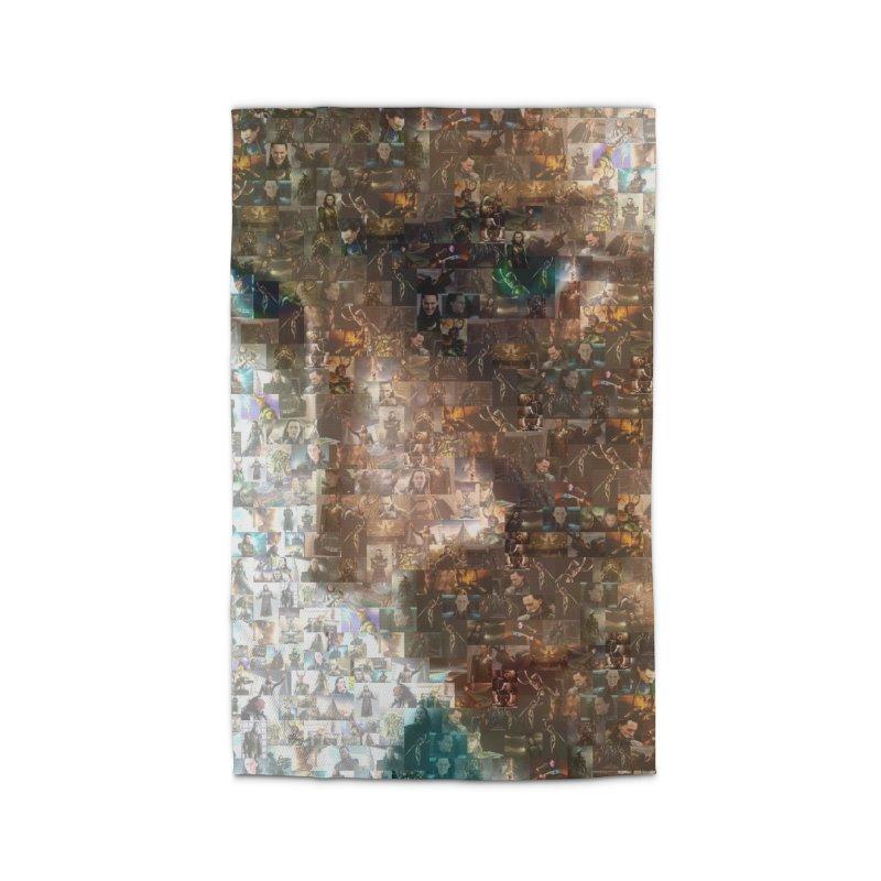 Loki God of Mischief Mosaic Home Rug by Loganferret's Artist Shop