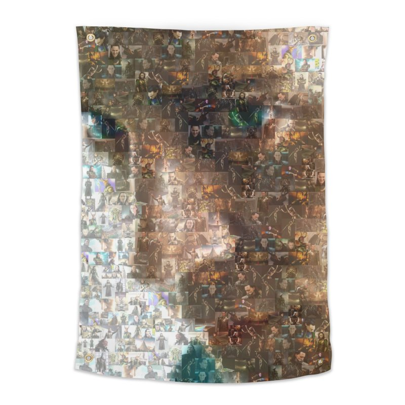 Loki God of Mischief Mosaic Home Tapestry by Loganferret's Artist Shop