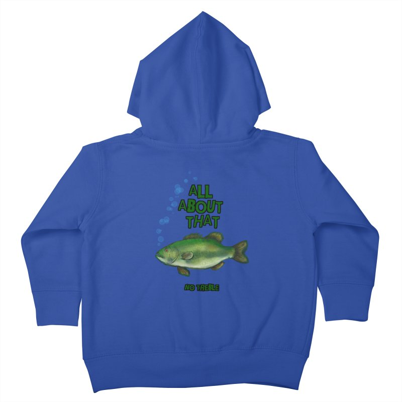 All About That Bass Kids Toddler Zip-Up Hoody by Loganferret's Artist Shop