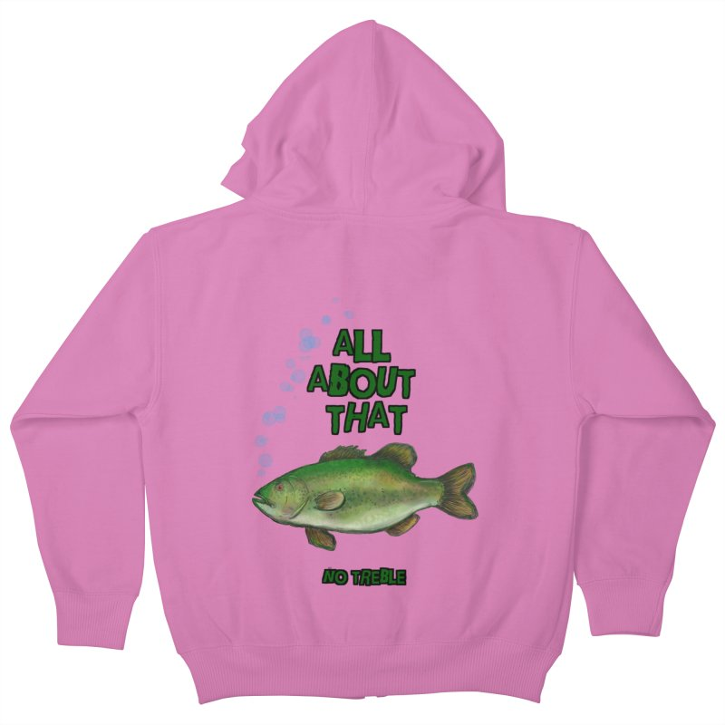 All About That Bass Kids Zip-Up Hoody by Loganferret's Artist Shop