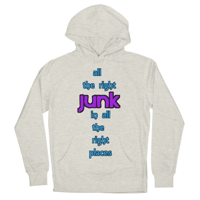 All the right junk... Men's Pullover Hoody by Loganferret's Artist Shop