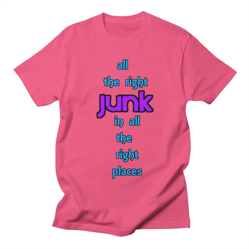 All the right junk... Men's T-shirt by Loganferret's Artist Shop