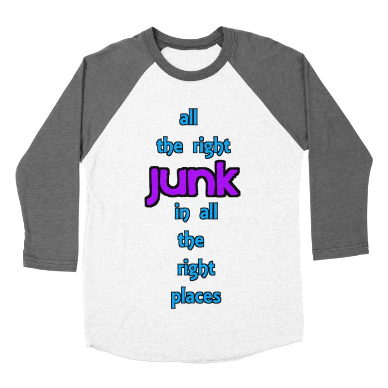 All the right junk... Men's Baseball Triblend T-Shirt by Loganferret's Artist Shop