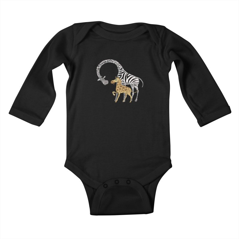 Pyjama Party Kids Baby Longsleeve Bodysuit by Loganferret's Artist Shop