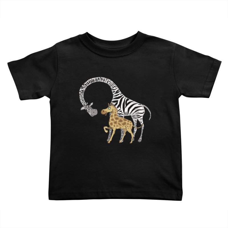 Pyjama Party Kids Toddler T-Shirt by Loganferret's Artist Shop