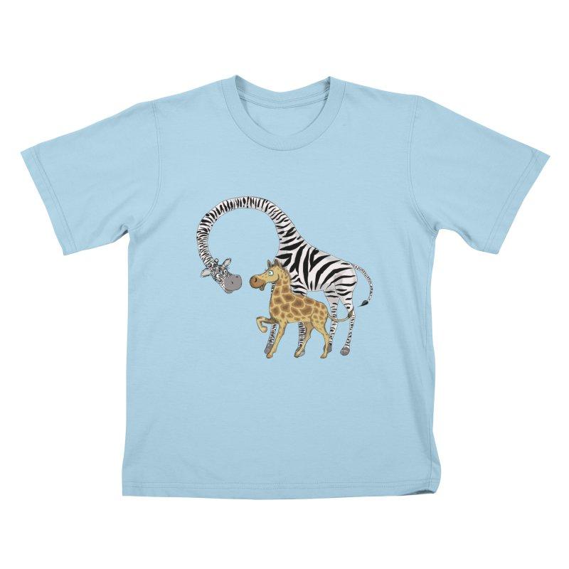 Pyjama Party Kids T-shirt by Loganferret's Artist Shop