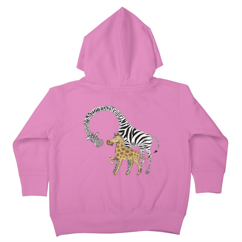 Pyjama Party Kids Toddler Zip-Up Hoody by Loganferret's Artist Shop