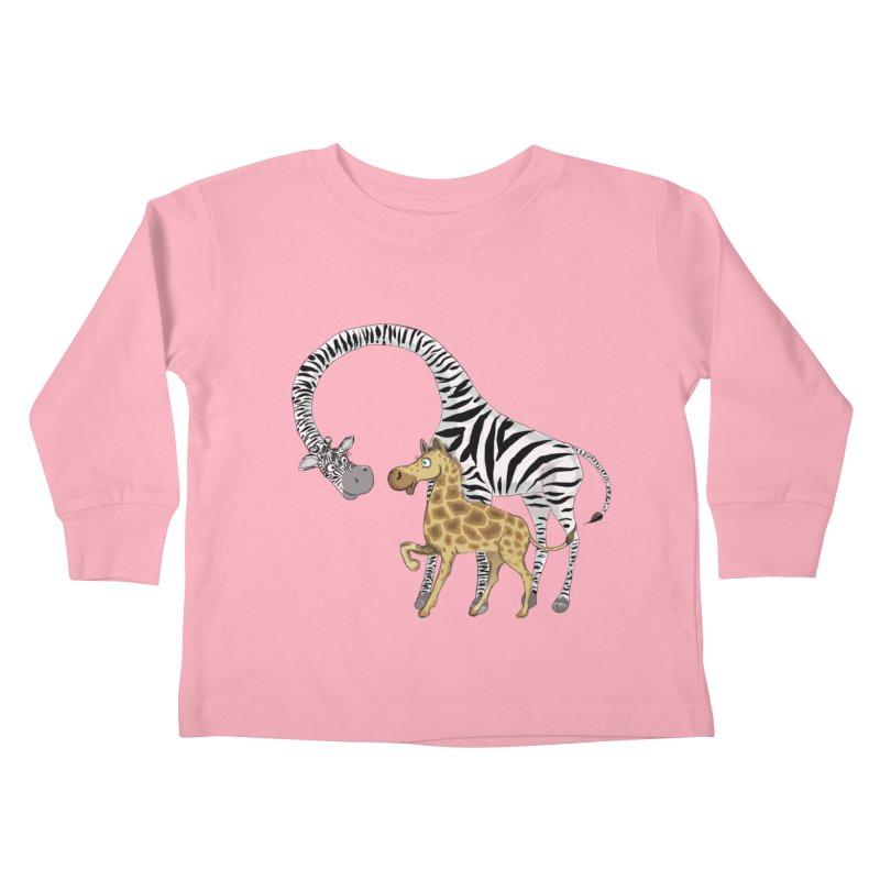 Pyjama Party Kids Toddler Longsleeve T-Shirt by Loganferret's Artist Shop