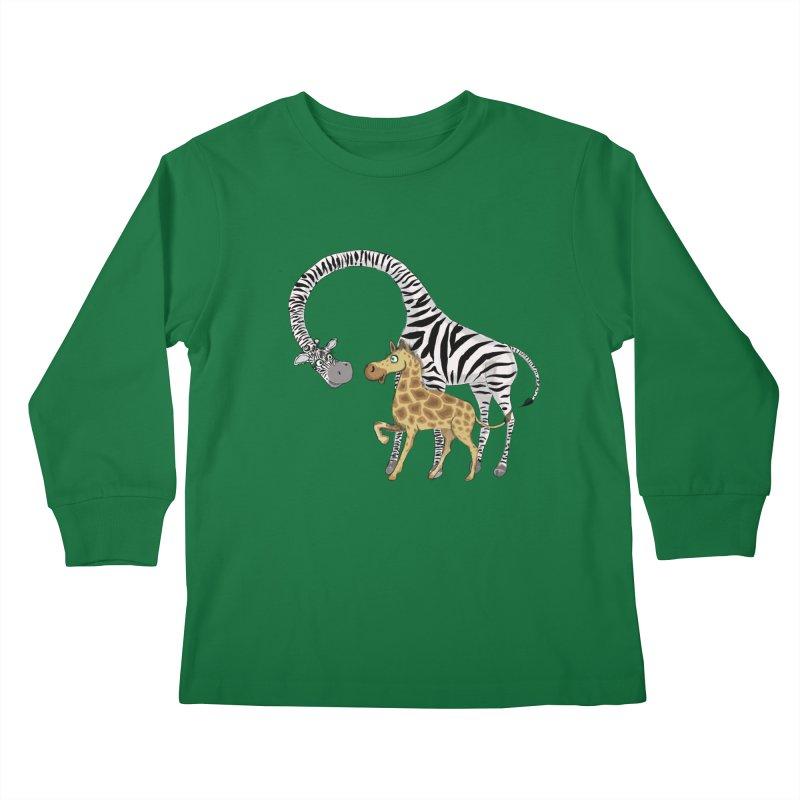 Pyjama Party Kids Longsleeve T-Shirt by Loganferret's Artist Shop