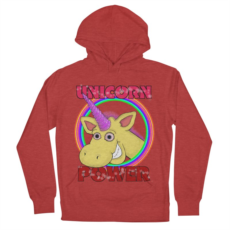 Unicorn Power Men's Pullover Hoody by Loganferret's Artist Shop