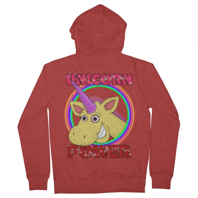 Unicorn Power Women's Zip-Up Hoody by Loganferret's Artist Shop