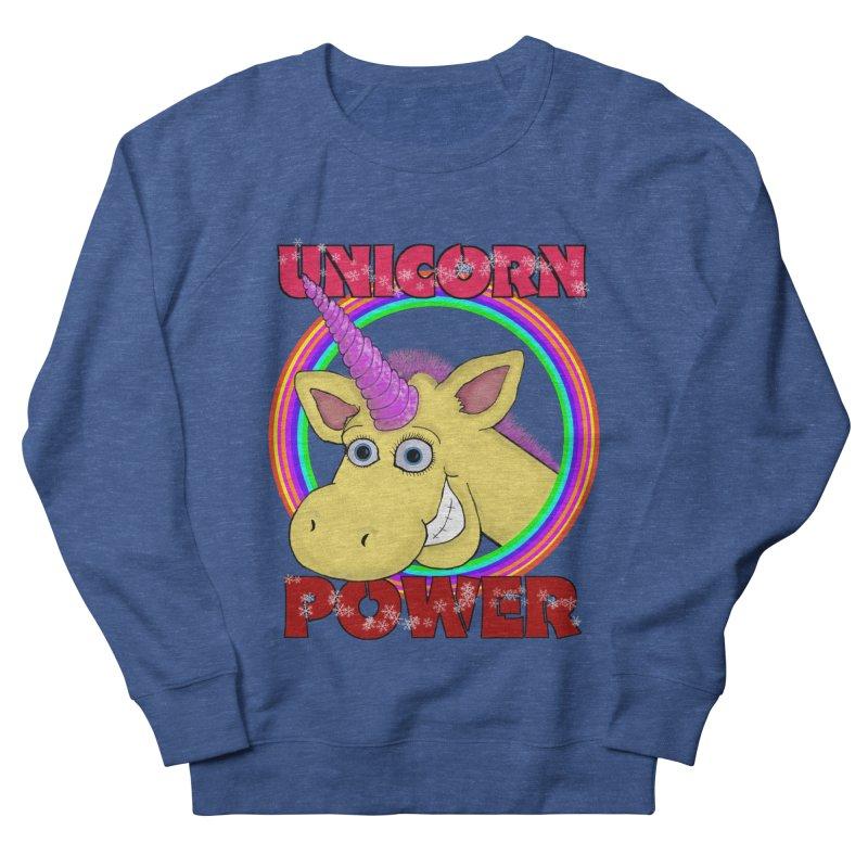 Unicorn Power Women's Sweatshirt by Loganferret's Artist Shop