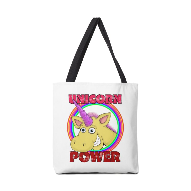 Unicorn Power Accessories Bag by Loganferret's Artist Shop