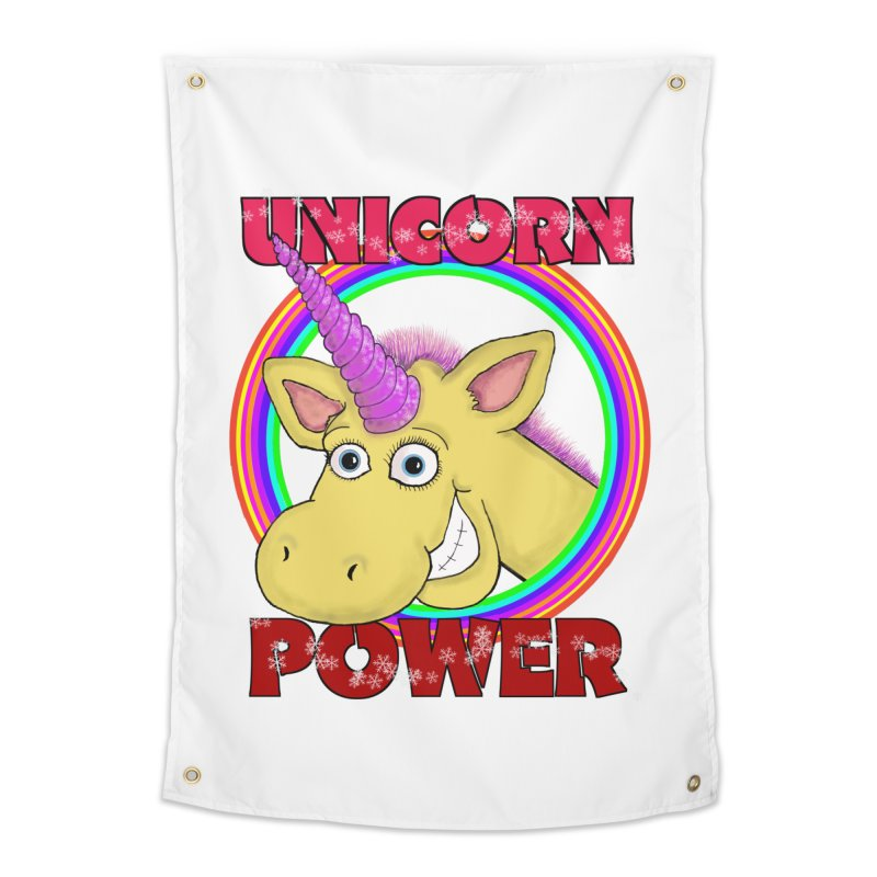 Unicorn Power Home Tapestry by Loganferret's Artist Shop