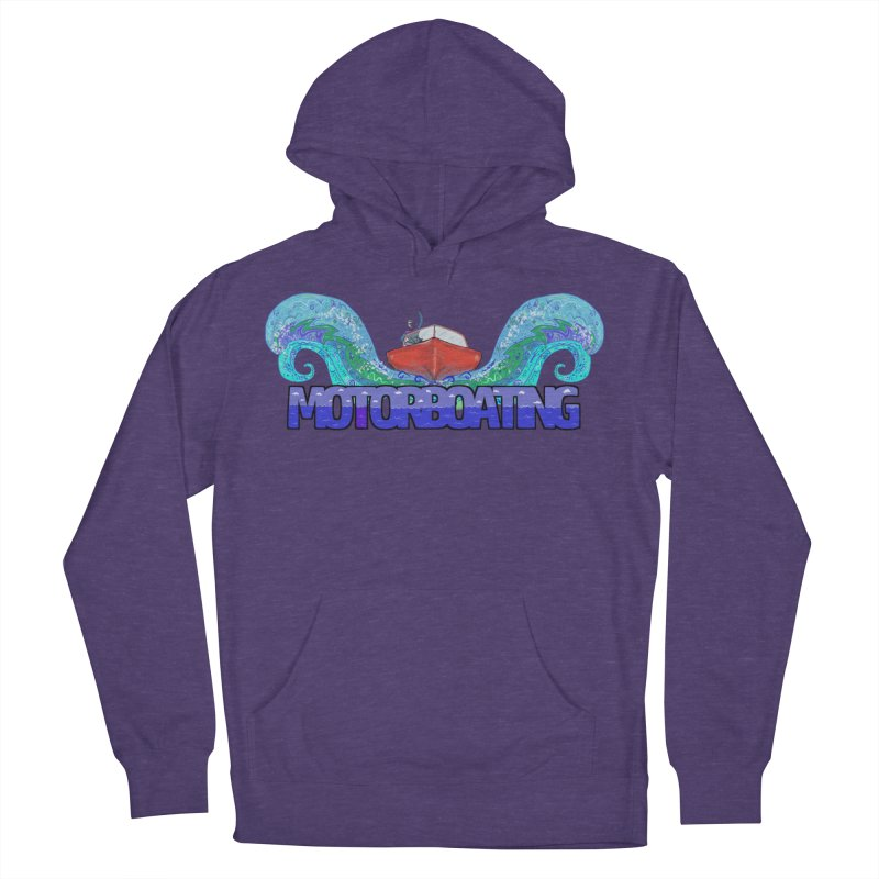 Love MotorBoating Men's Pullover Hoody by Loganferret's Artist Shop