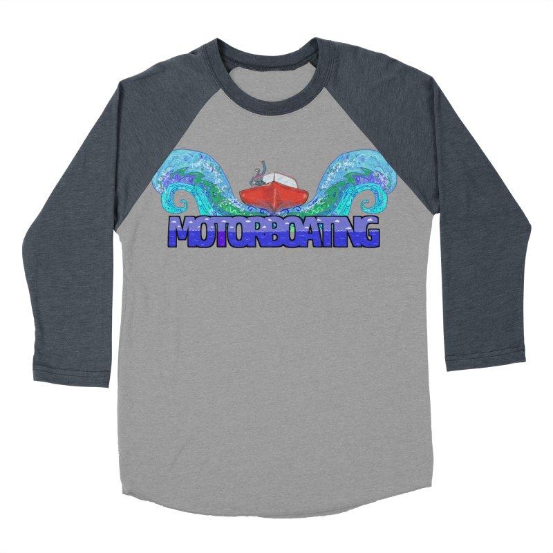 Love MotorBoating Women's Baseball Triblend T-Shirt by Loganferret's Artist Shop