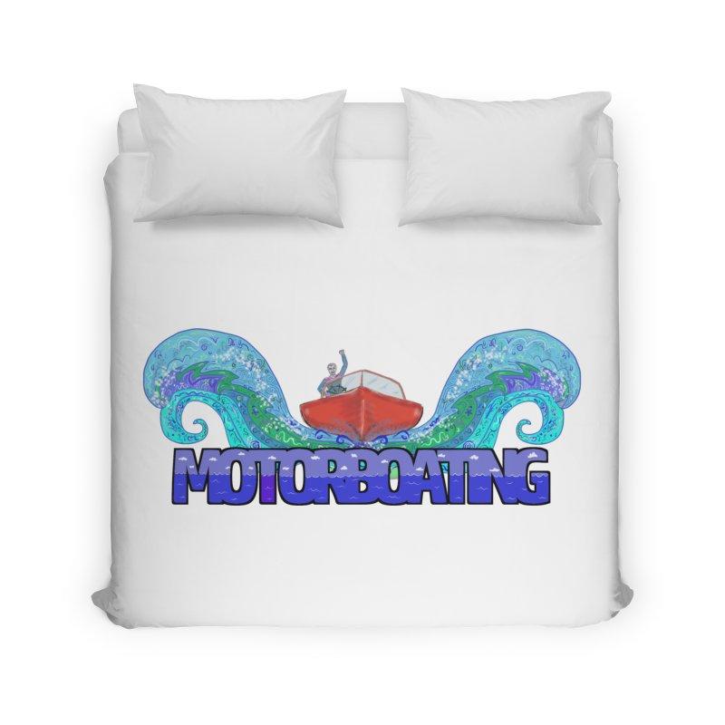 Love MotorBoating Home Duvet by Loganferret's Artist Shop