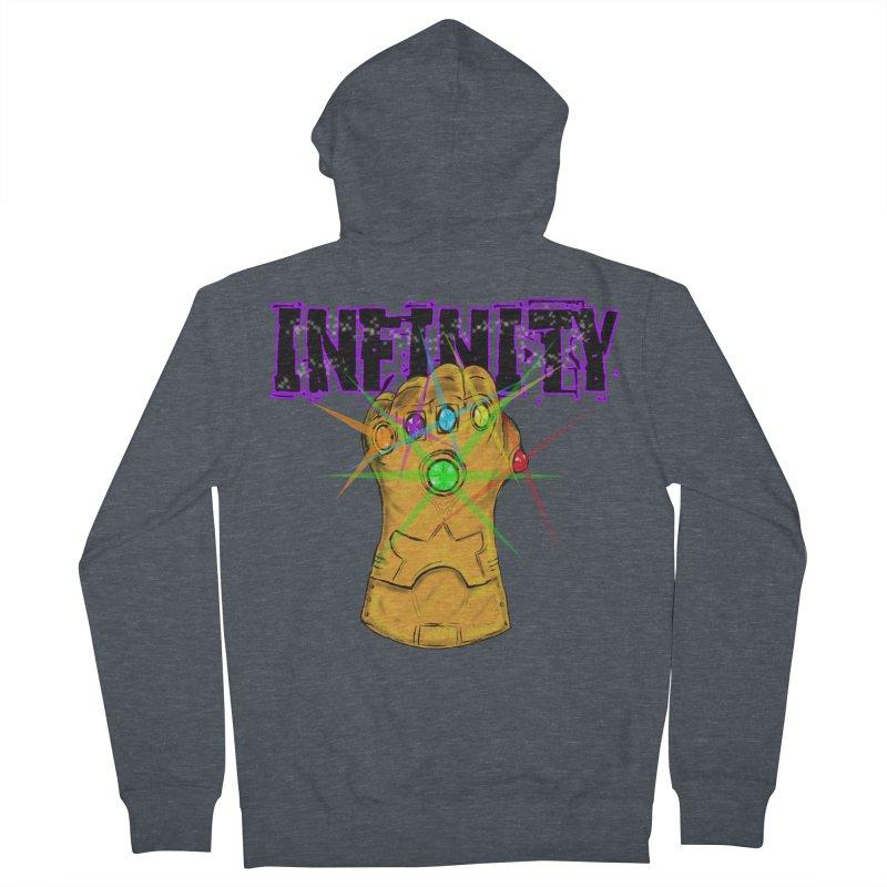 Infinity Men's Zip-Up Hoody by Loganferret's Artist Shop