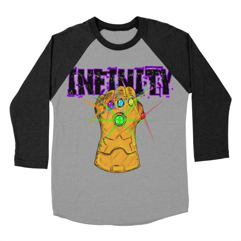 Infinity Women's Baseball Triblend T-Shirt by Loganferret's Artist Shop