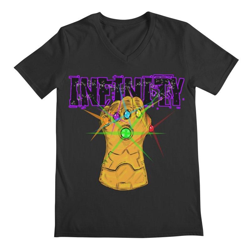 Infinity Men's V-Neck by Loganferret's Artist Shop