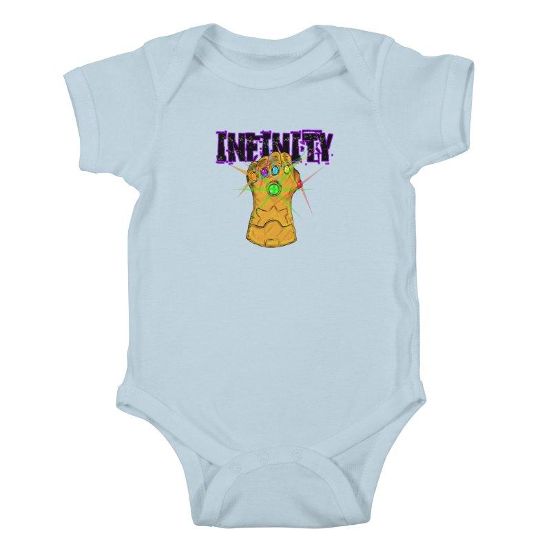 Infinity Kids Baby Bodysuit by Loganferret's Artist Shop