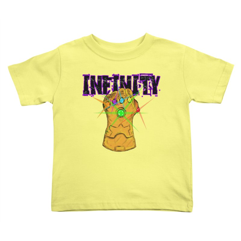Infinity Kids Toddler T-Shirt by Loganferret's Artist Shop