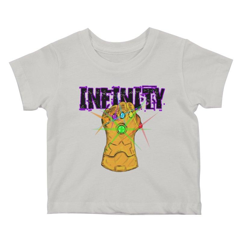 Infinity Kids Baby T-Shirt by Loganferret's Artist Shop