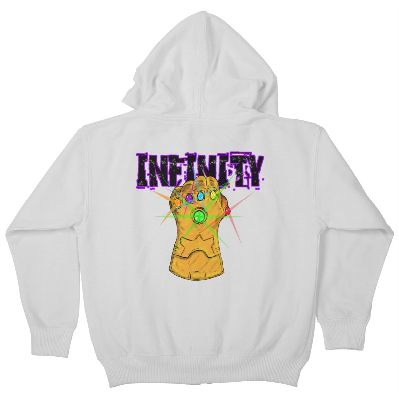 Infinity Kids Zip-Up Hoody by Loganferret's Artist Shop
