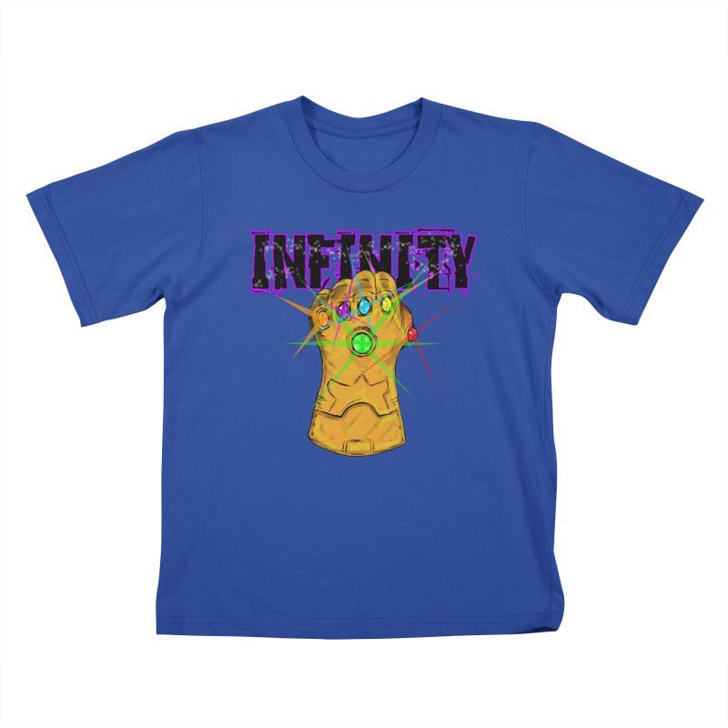 Infinity Kids T-Shirt by Loganferret's Artist Shop