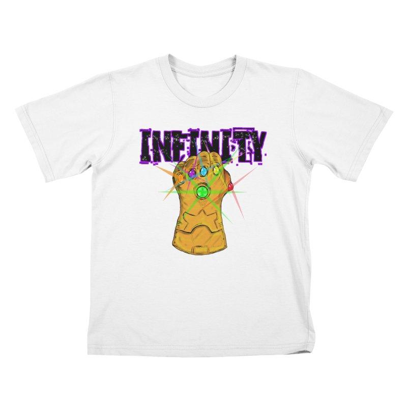 Infinity Kids T-Shirt by Loganferret's Artist Shop