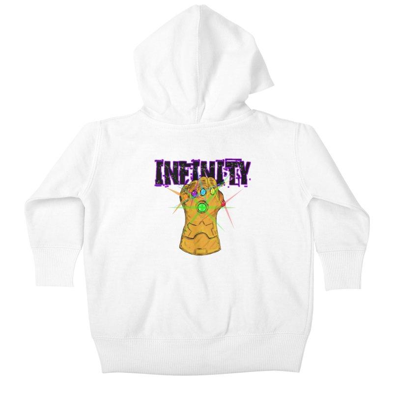 Infinity Kids Baby Zip-Up Hoody by Loganferret's Artist Shop