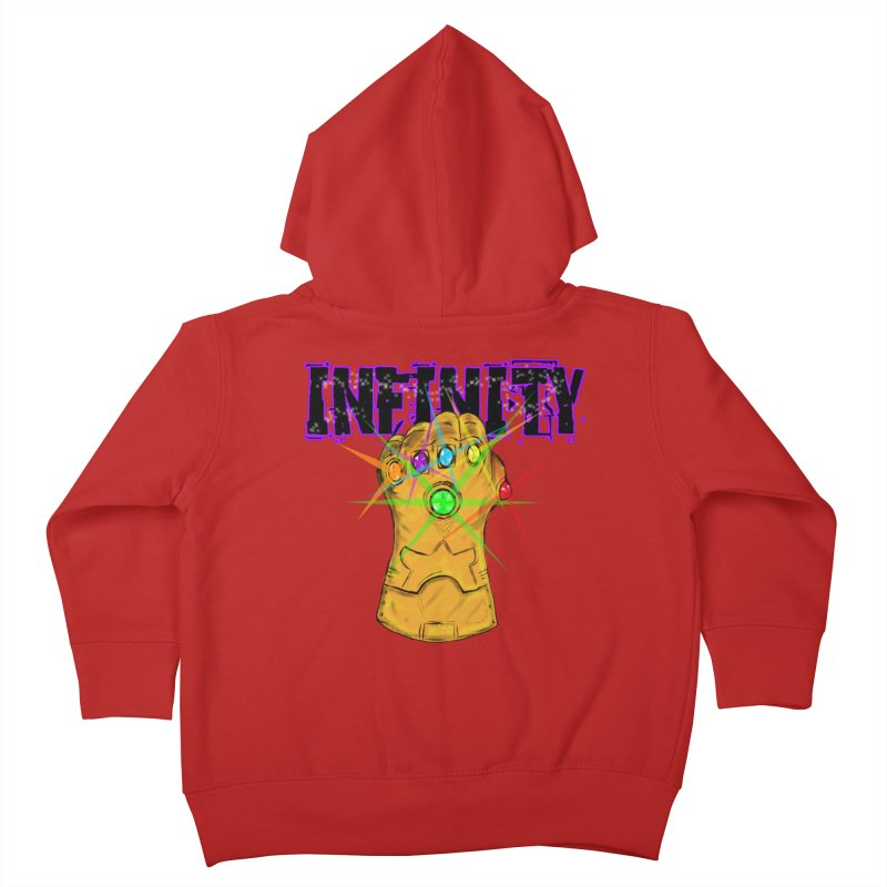 Infinity Kids Toddler Zip-Up Hoody by Loganferret's Artist Shop