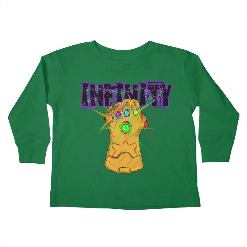 Infinity Kids Toddler Longsleeve T-Shirt by Loganferret's Artist Shop