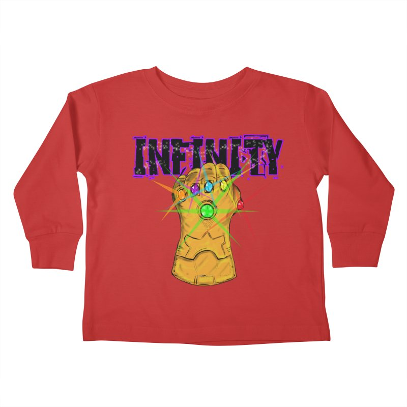 Infinity Kids Toddler Longsleeve T-Shirt by Loganferret's Artist Shop