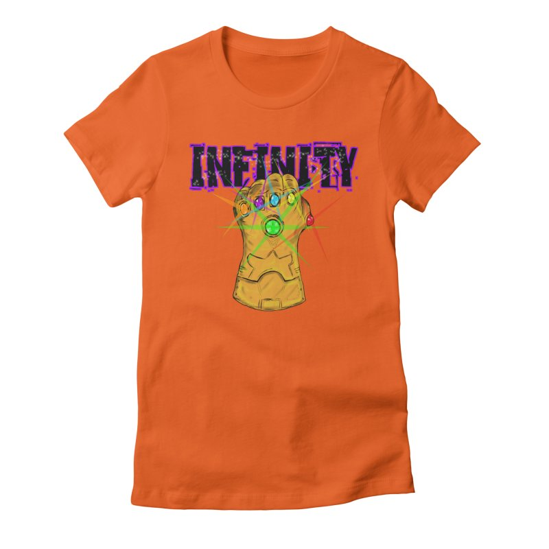 Infinity Women's Fitted T-Shirt by Loganferret's Artist Shop