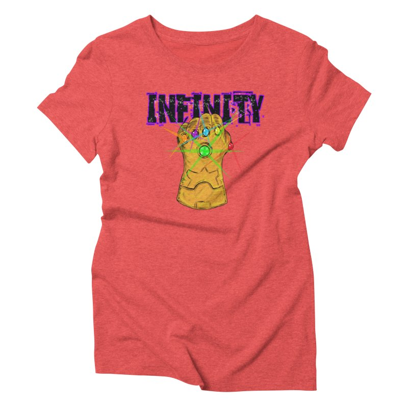 Infinity Women's Triblend T-shirt by Loganferret's Artist Shop